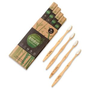 ByOlive 1 year's supply of Bamboo toothbrushes