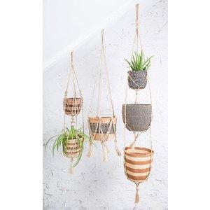 The Basket Room Padma double tier plant hanger