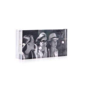 XLBoom Acrylic magnetic frame 5x10 clear
