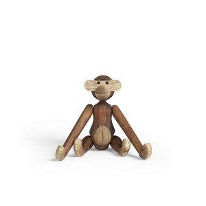 Kay Bojesen Monkey, mini, teak & limba, 9,5 cm