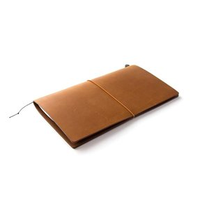 Midori Traveler's Notebook Starter Kit camel