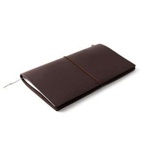 Midori Traveler's Notebook Starter Kit brown