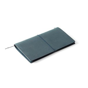 Midori Traveler's Notebook Starter Kit blue