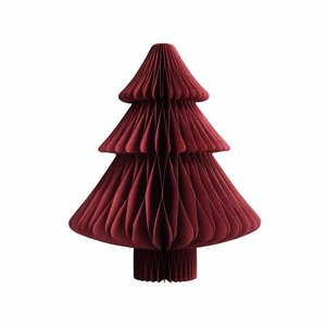 &klevering X-mas tree paper small red