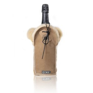 Kywie Champagne cooler camel suede