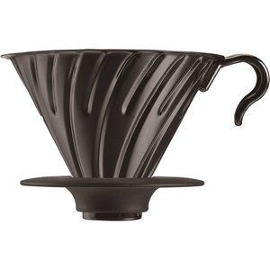 Hario V60-02 Metal dripper with silicone base