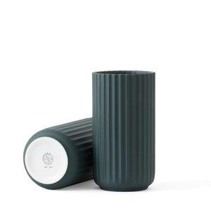 Lyngby Vase 15cm, Copenhagen green