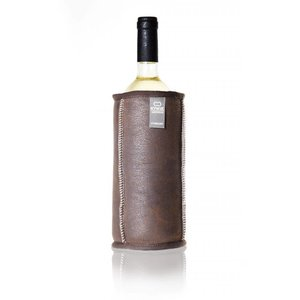 Kywie Wine cooler brown leather