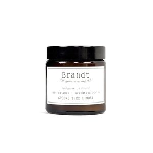 Brandt Apothecary Candle Green tea & lime