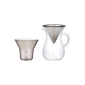 Kinto Coffee carafe set 300ml stainless steel