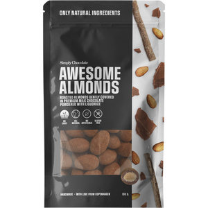 Simply Chocolate Awesome almonds - 100g