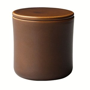 Kinto SCS Coffee canister brown