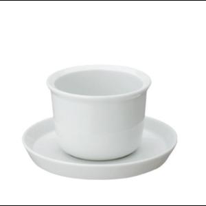 Kinto LT Kyusu cup & saucer white