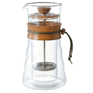 Hario Cafe Press 600ml - Olive Wood