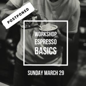 brander Workshop Espresso Basics