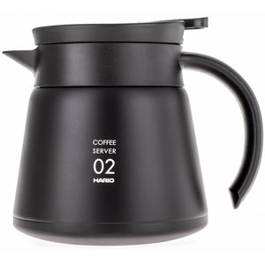 Hario Insulated Steel Server V60-02 Black 600ml