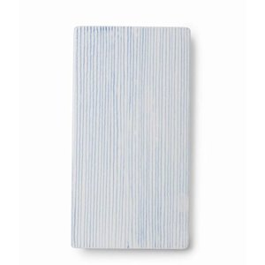 Anne Black Large Tile Stripes length blue