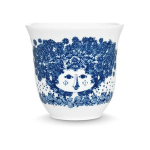 Bjørn Wiinblad Thermo cup, Felicia, blue, 25cl