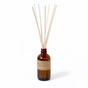 P.F. Candle Co. Amber & Moss 3 oz Reed Diffuser
