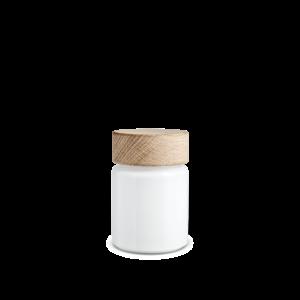 Holmegaard Salt mill, 75 ml, white