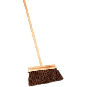 Iris Hantverk Broom with long handle - oil treated birch, bassine 120cm