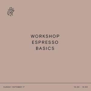 brander Workshop Espresso Basics - 17 oktober 2021