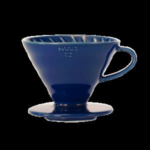 Hario V60-02 Ceramic Coffee Dripper Indigo