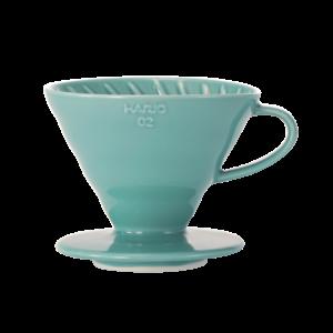 Hario V60-02 Ceramic Coffee Dripper Turquoise