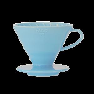 Hario V60-02 Ceramic Coffee Dripper Light Blue