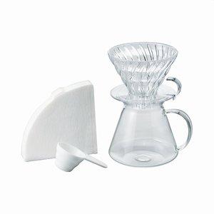 Hario V60 Simply Dripper 02 Set Glass