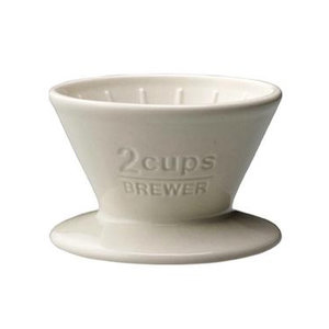 Kinto Coffee Brewer 2 Cups white