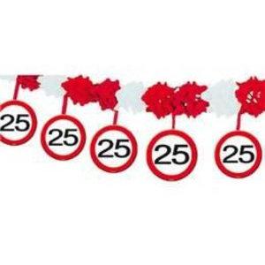 Slinger papier verkeersbord 25 jaar