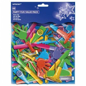 Pinata speelgoed lawaaimakers 48 stuks
