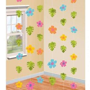 Hangdecoratie Hibiscus draad