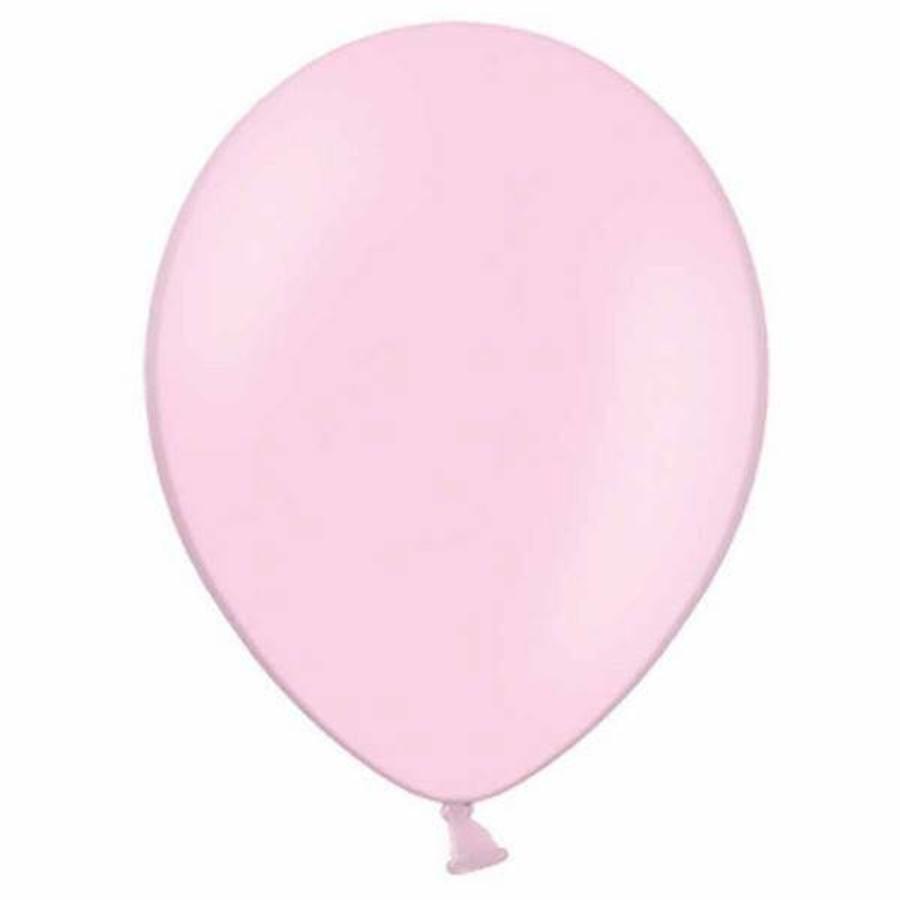 Ballon lichtroze 10 stuks
