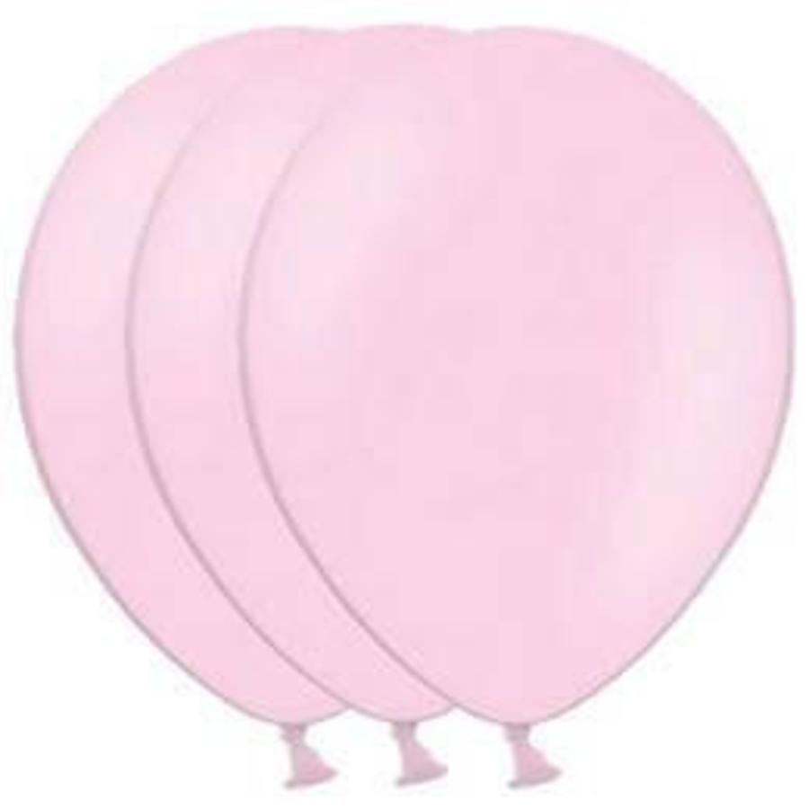 Ballon lichtroze 100 stuks
