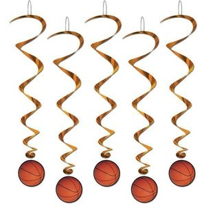 Hangdecoratie Whirls Basketbal