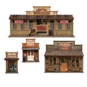 Scenesetters Wild West Town