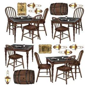 Scenesetters Saloon tafels