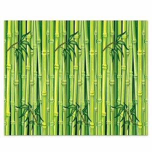 Wanddecoratie Bamboe groen