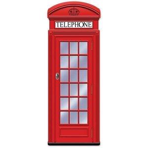 Decoratie Telefooncel UK groot