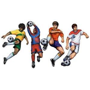 Feestdecoraties voetballers