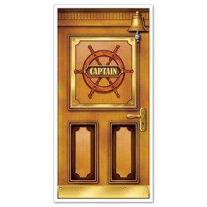 Deurposter Cruise Ship deur kapitein