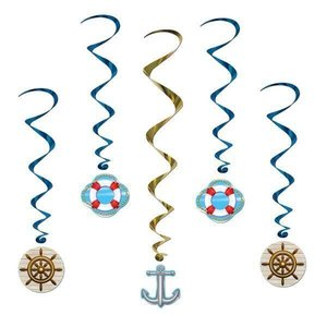 Hangdecoratie Cruise Ship whirls