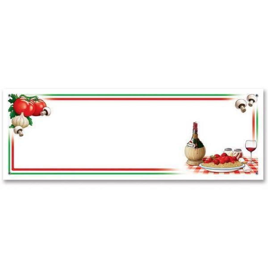 Banner Italië voor eigen tekst