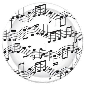 Bordjes muzieknoten