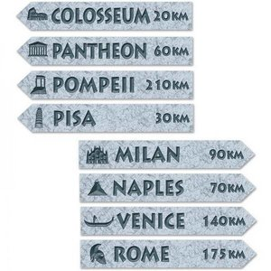 Decoraties Street Signs Italië