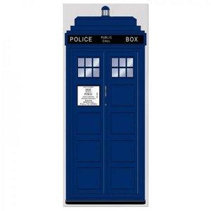 Deurposter Engelse Politie telefooncel
