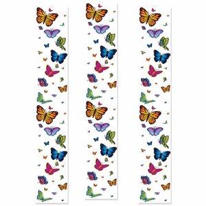 Party Panels Vlinders 3 stuks