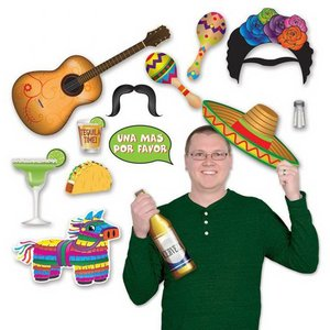 Selfie Foto Fun decoraties Mexicaans